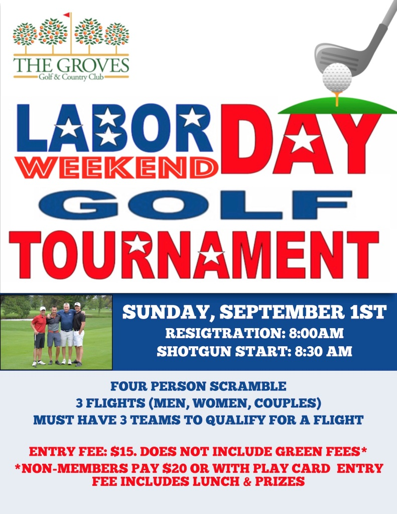 Labor Day Weekend Golf Tournament